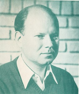 Photo: W. Linden, from the back cover of The Pauses of the Eye