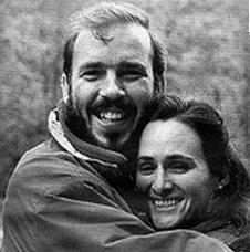 Photo by Marcia Morgado.  Roberto Valero with his wife, Maria Badias-Valero.