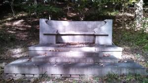Jusserand bench