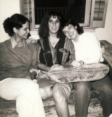 Joan Retalleck, Lynne Dreyer, and Tina Darragh at Folio Books, Washington, DC