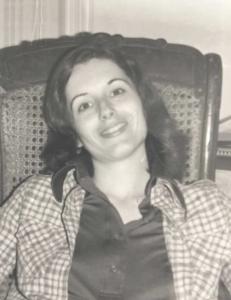 Beth Joselow, 1974.