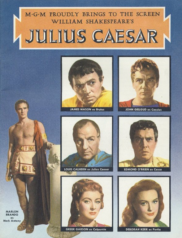 Movie poster, 1953. Courtesy of the Folger Shakespeare Library.