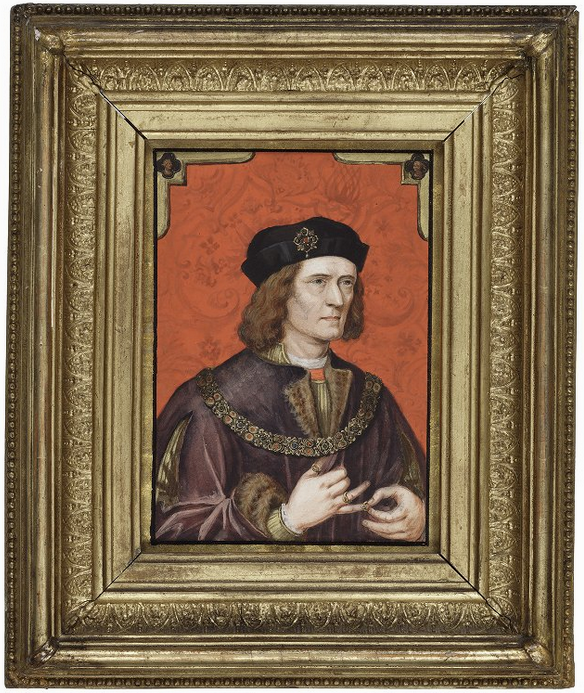 Richard 3d by George Vertue (Folger Shakespeare Library)
