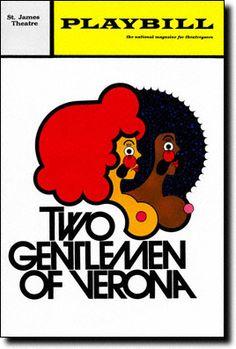 Two Gentlemen Playbill